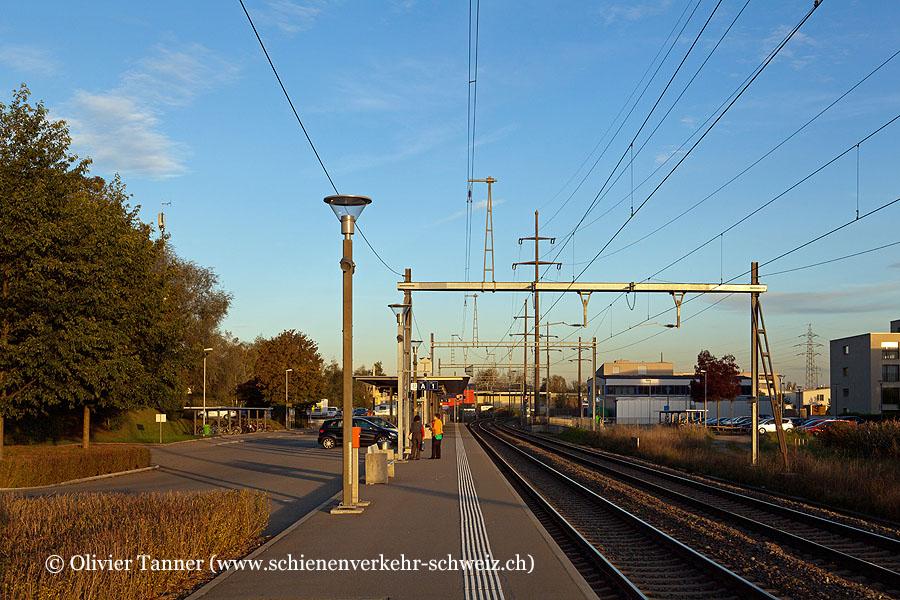 """Bahnhof """"Buchs-Dällikon"""""""