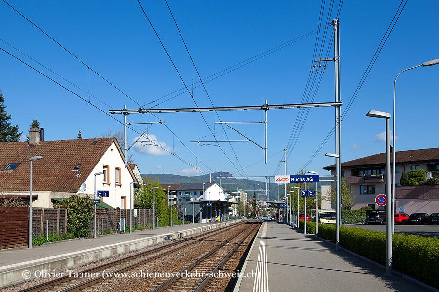 """Bahnhof """"Buchs AG"""""""