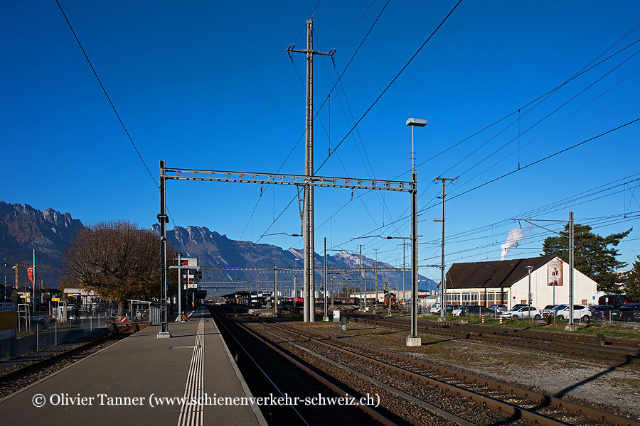 """Bahnhof """"Buchs SG"""""""