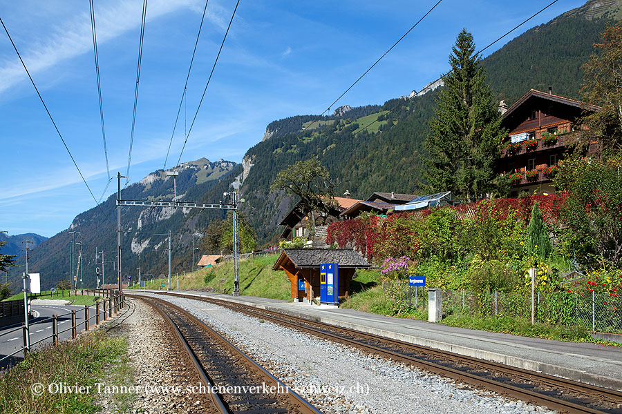 """Bahnhof """"Burglauenen"""""""