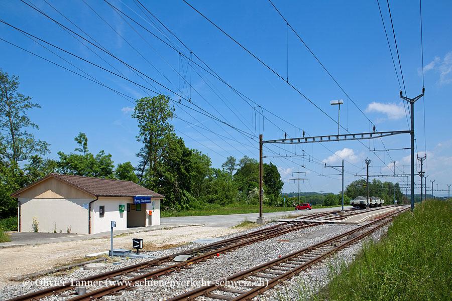"""Bahnhof """"Bussy-Chardonney"""""""