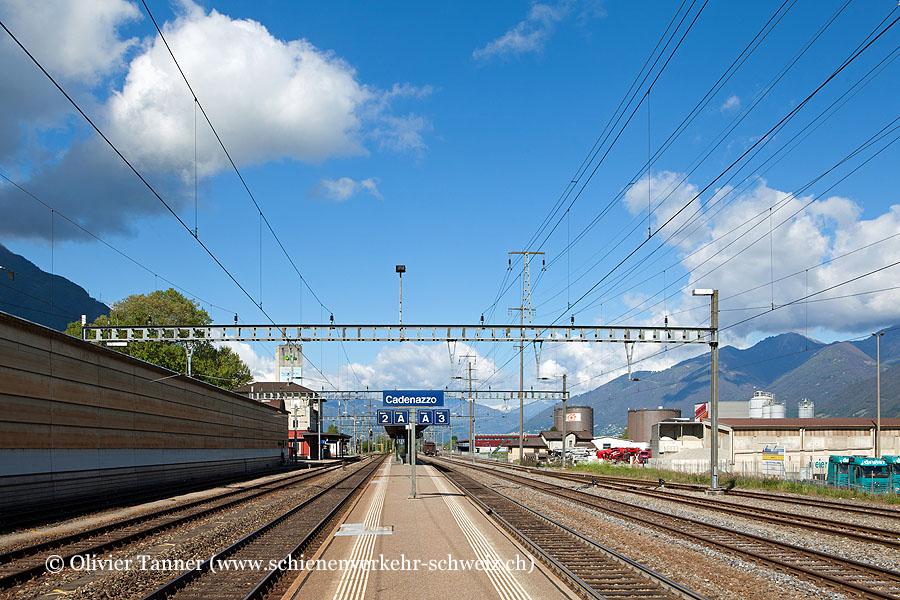 """Bahnhof """"Cadenazzo"""""""