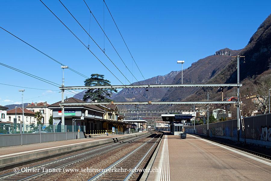 "Bahnhof ""Capolago-Riva S. Vitale"""