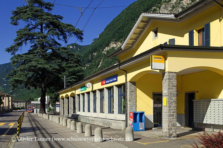 "Bahnhof ""Capolago-Riva S. Vitale MG"""