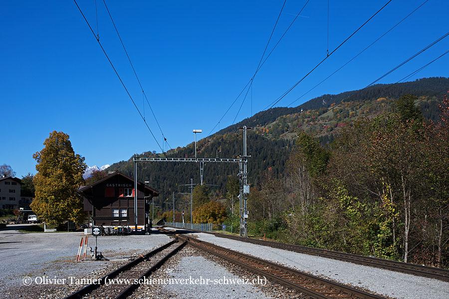 """Bahnhof """"Castrisch"""""""