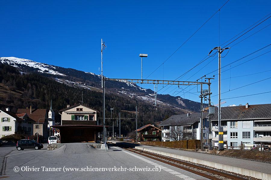 """Bahnhof """"Cazis"""""""
