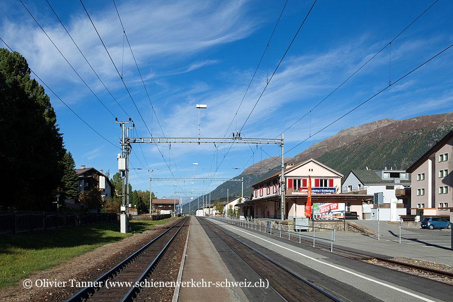"""Bahnhof """"Celerina"""""""