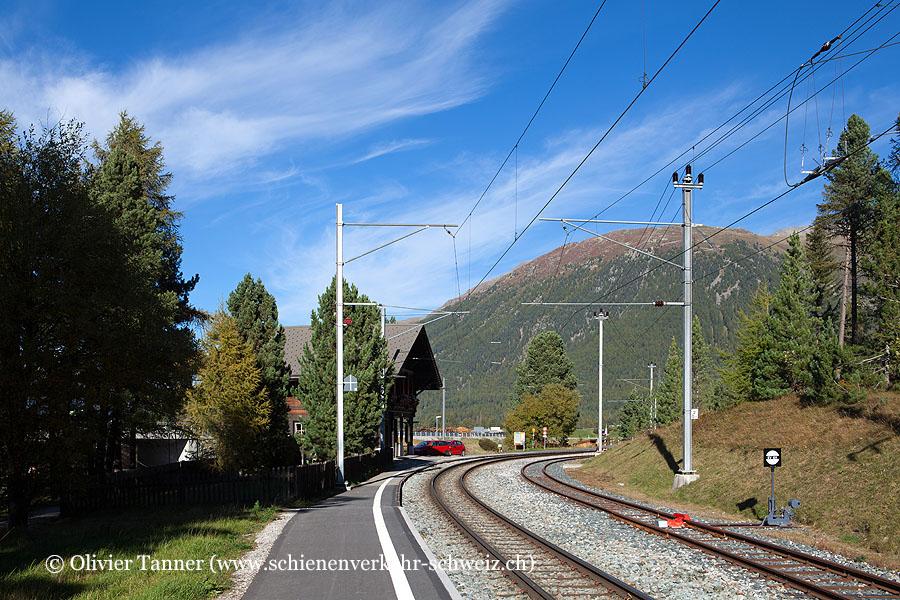 """Bahnhof """"Celerina Staz"""""""