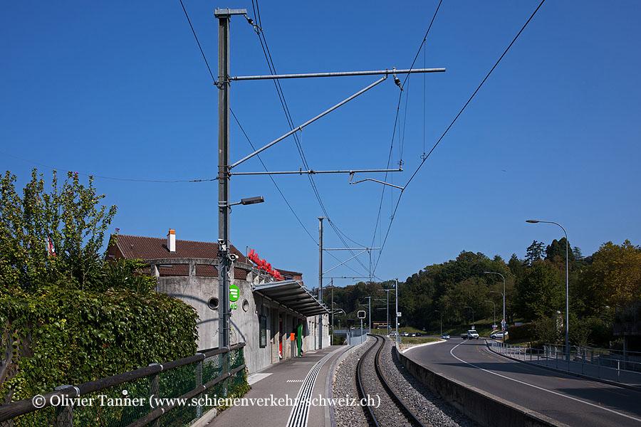 """Bahnhof """"Cery-Fleur-de-Lys"""""""