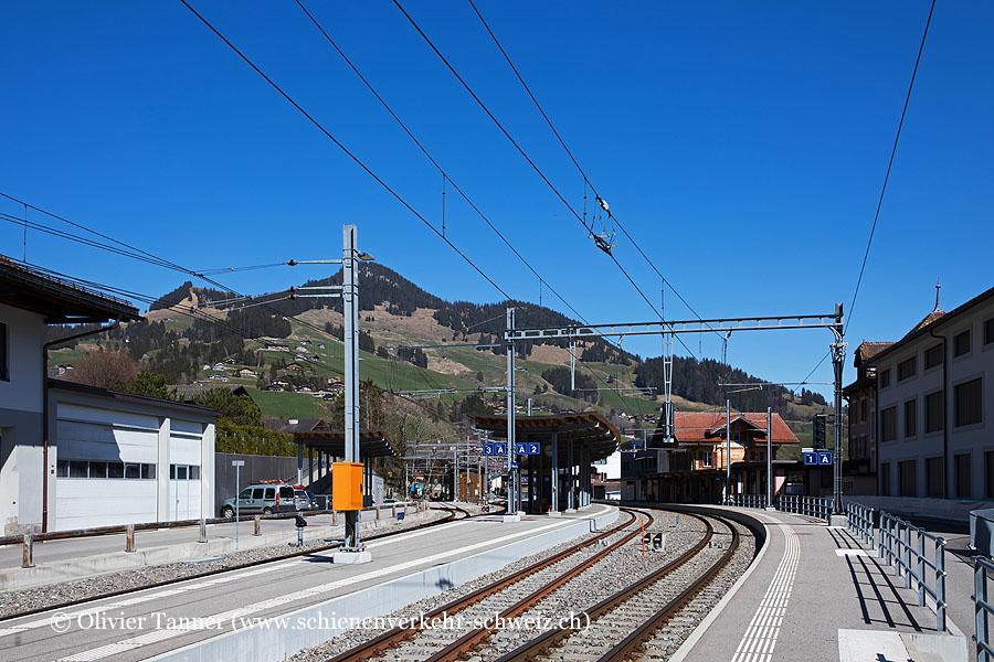 """Bahnhof """"Château-d'Oex"""""""