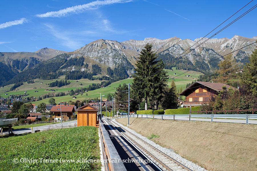 """Bahnhof """"Château-d'Oex La Palaz"""""""