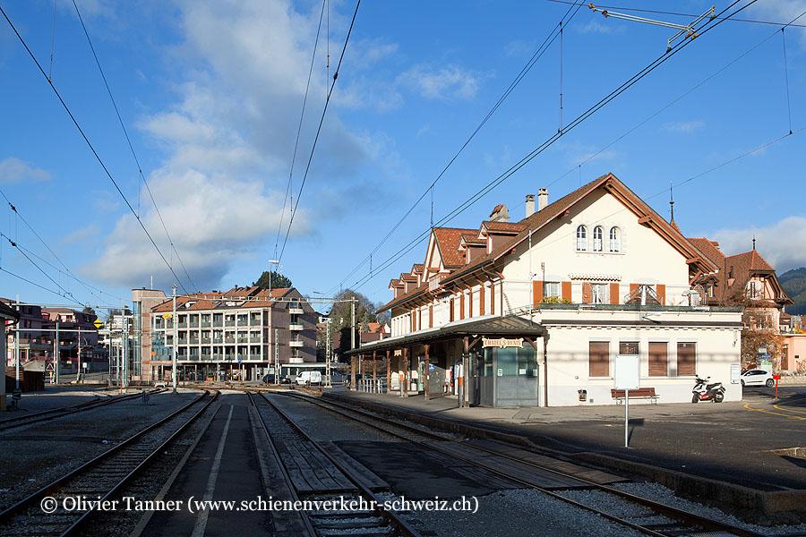 "Bahnhof ""Châtel-St-Denis"""
