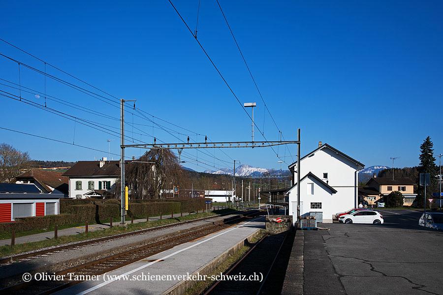 """Bahnhof """"Châtillens"""""""