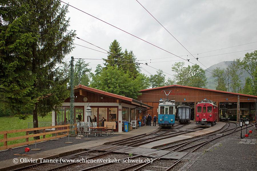 "Bahnhof ""Chamby-Musée"""