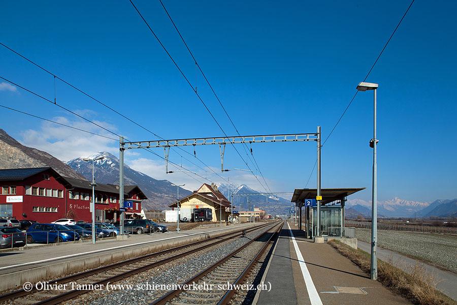 """Bahnhof """"Chamoson-St-Pierre-de-Clages"""""""