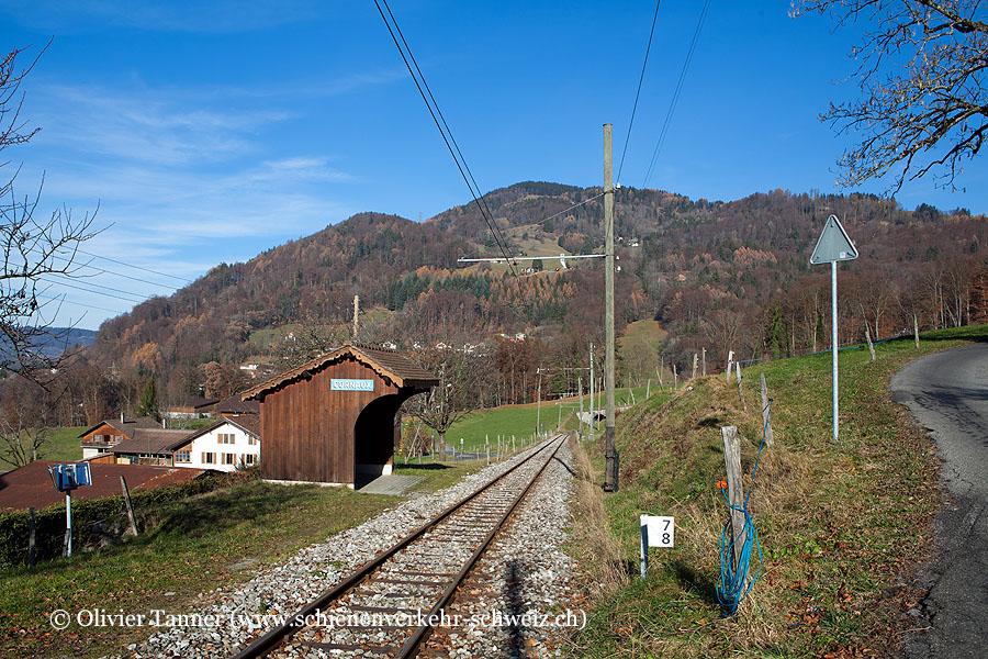 """Bahnhof """"Chaulin-Cornaux"""""""