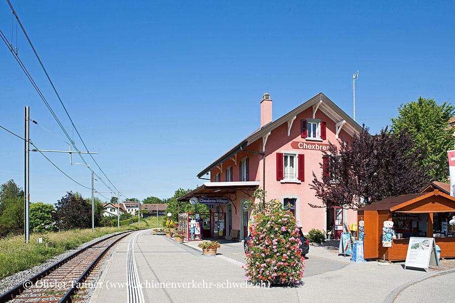 """Bahnhof """"Chexbres-Village"""""""