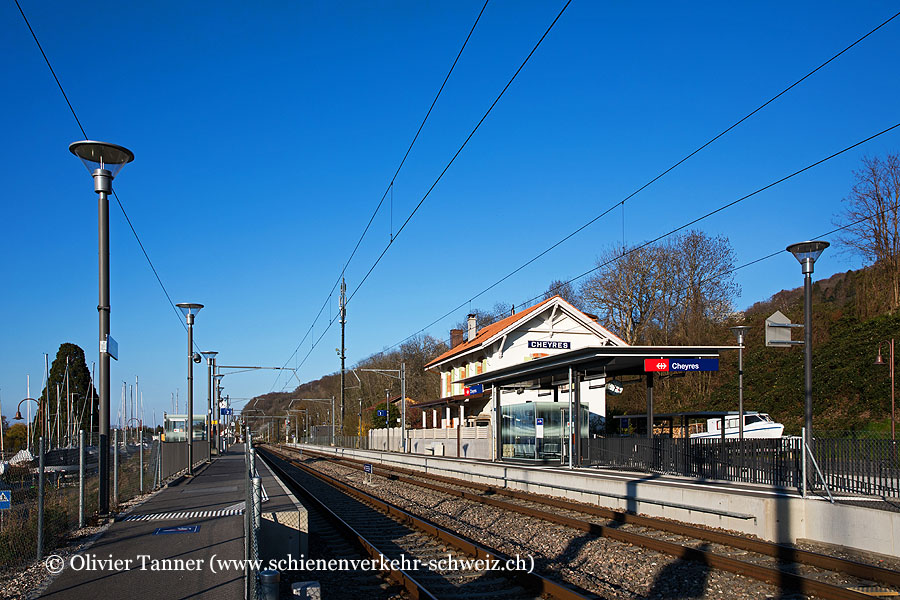 "Bahnhof ""Cheyres"""