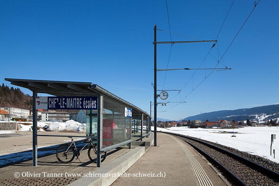 """Bahnhof """"Chez-le-Maître-Ecoles"""""""