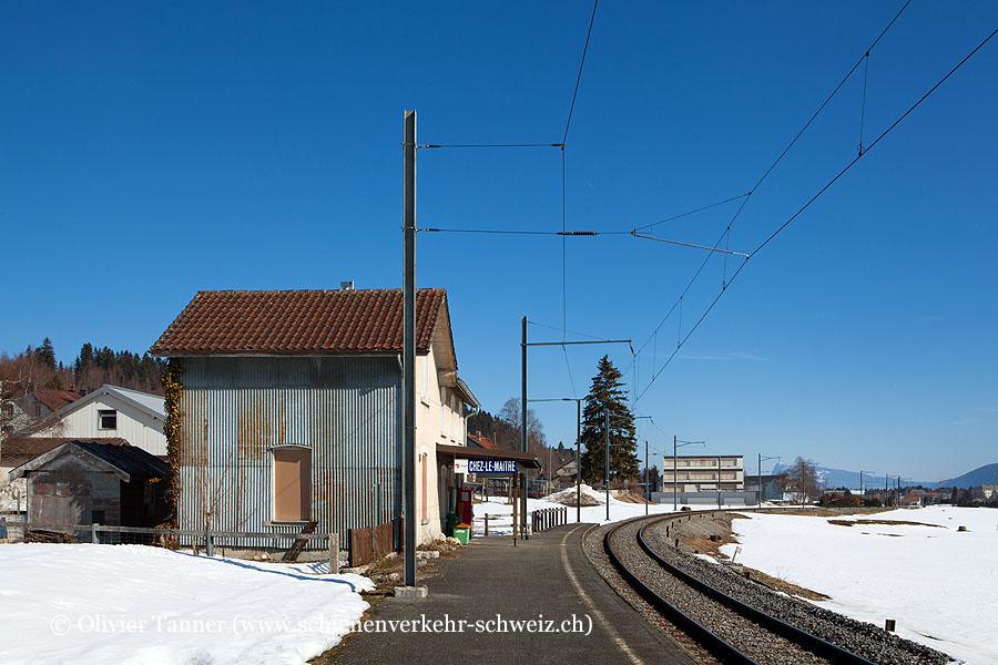 """Bahnhof """"Chez-le-Maître"""""""