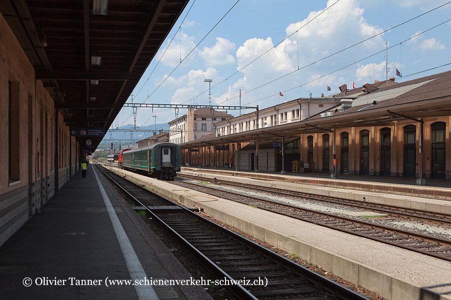 "Bahnhof ""Chiasso"""