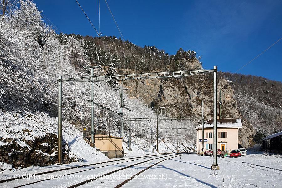 """Bahnhof """"Choindez"""""""