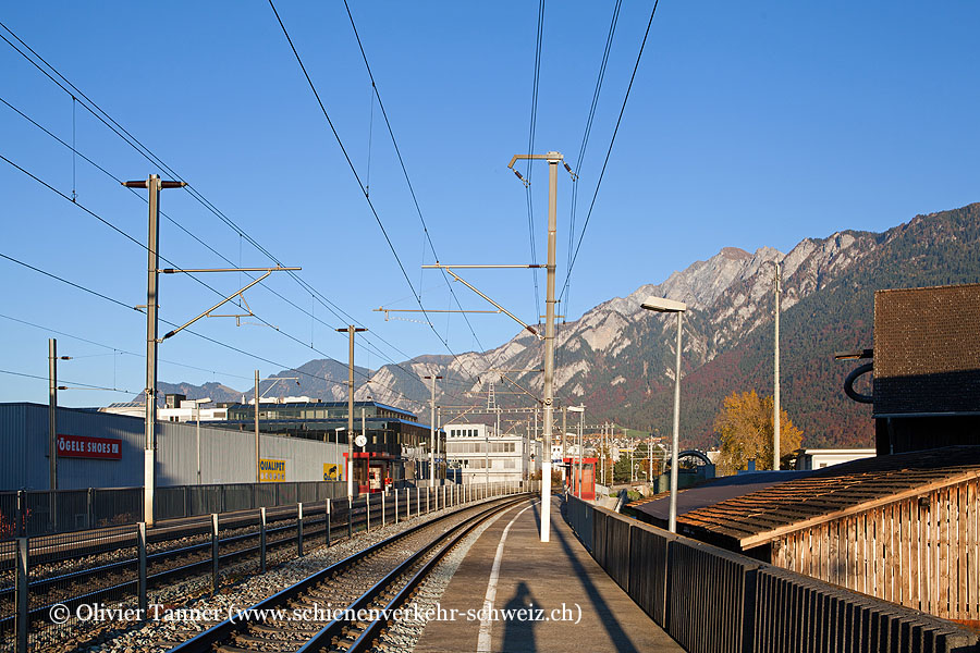 """Bahnhof """"Chur West"""""""
