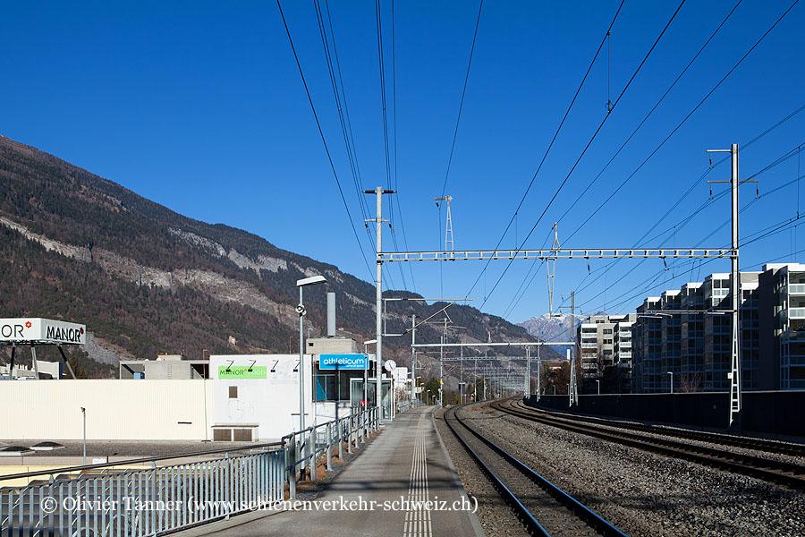 """Bahnhof """"Chur Wiesental"""""""