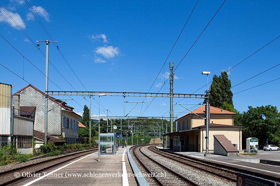 "Bahnhof ""Colombier"""
