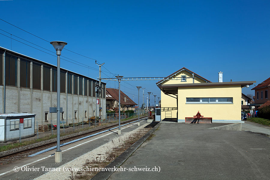 """Bahnhof """"Corcelles-Nord"""""""