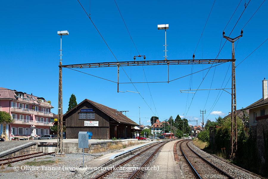 """Bahnhof """"Corcelles-Peseux"""""""