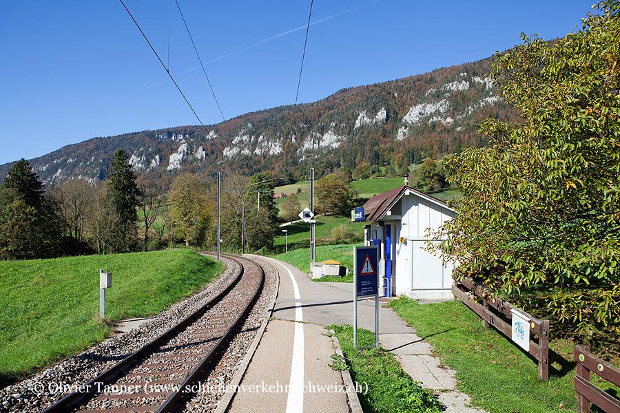 """Bahnhof """"Corcelles BE"""""""