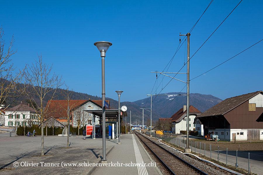 """Bahnhof """"Corgémont"""""""