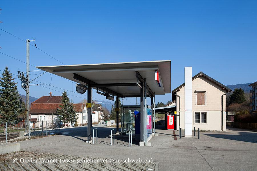 """Bahnhof """"Cortébert"""""""