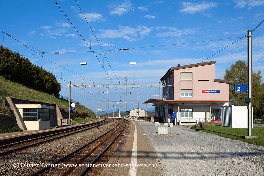 """Bahnhof """"Cottens"""""""