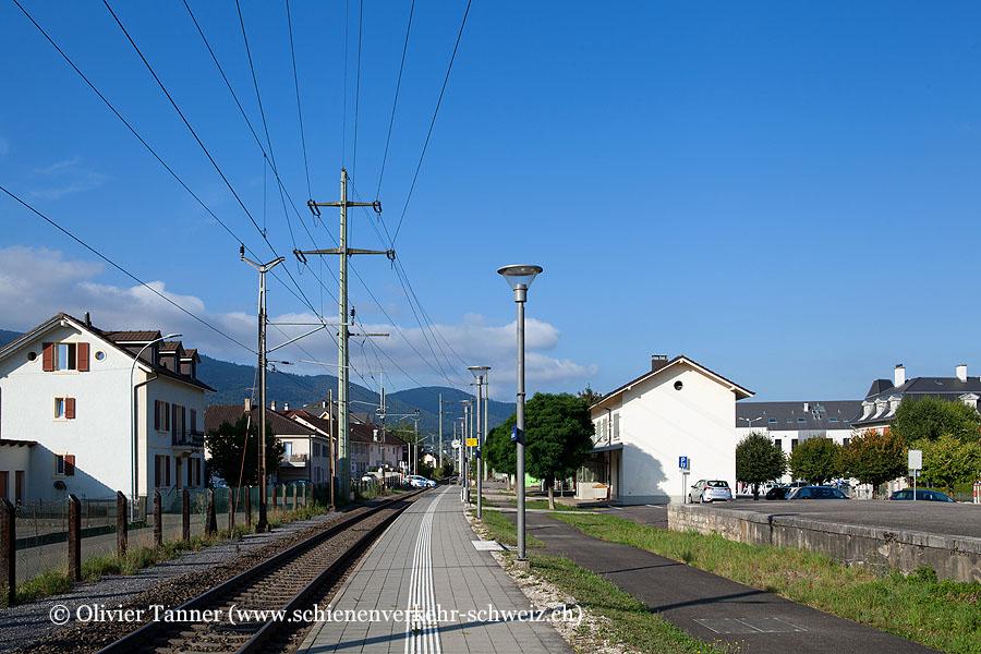 """Bahnhof """"Courtételle"""""""