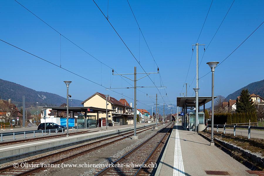 """Bahnhof """"Courtelary"""""""
