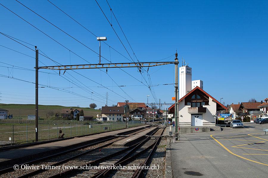 """Bahnhof """"Courtepin"""""""