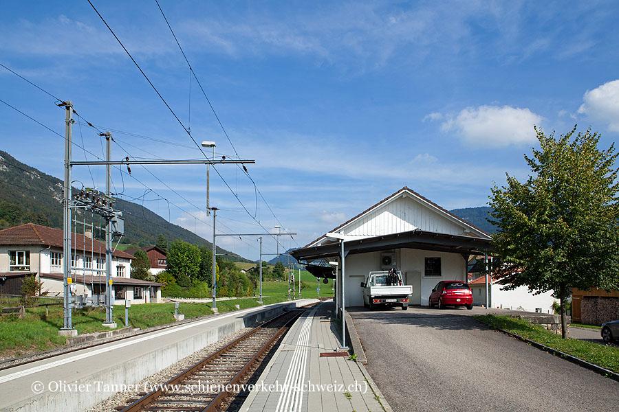 """Bahnhof """"Crémines"""""""