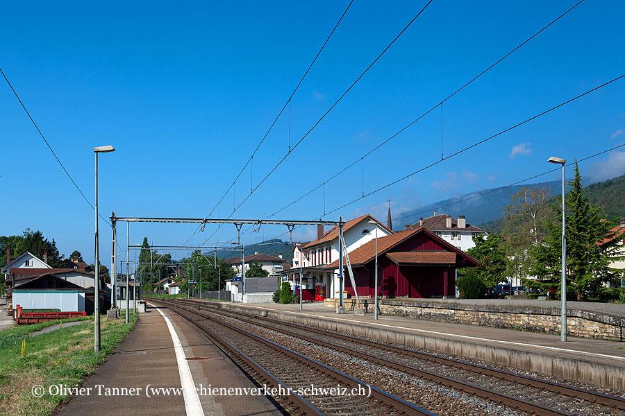 """Bahnhof """"Cressier NE"""""""