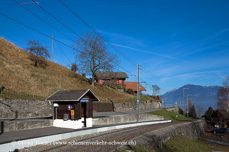 "Bahnhof ""Croix-du-Nant"""
