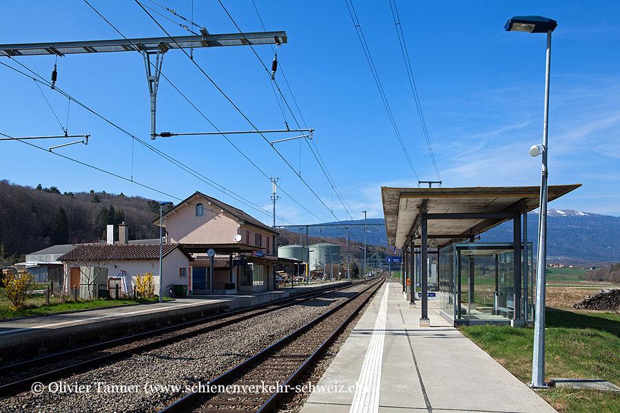 "Bahnhof ""Croy-Romainmôtier"""