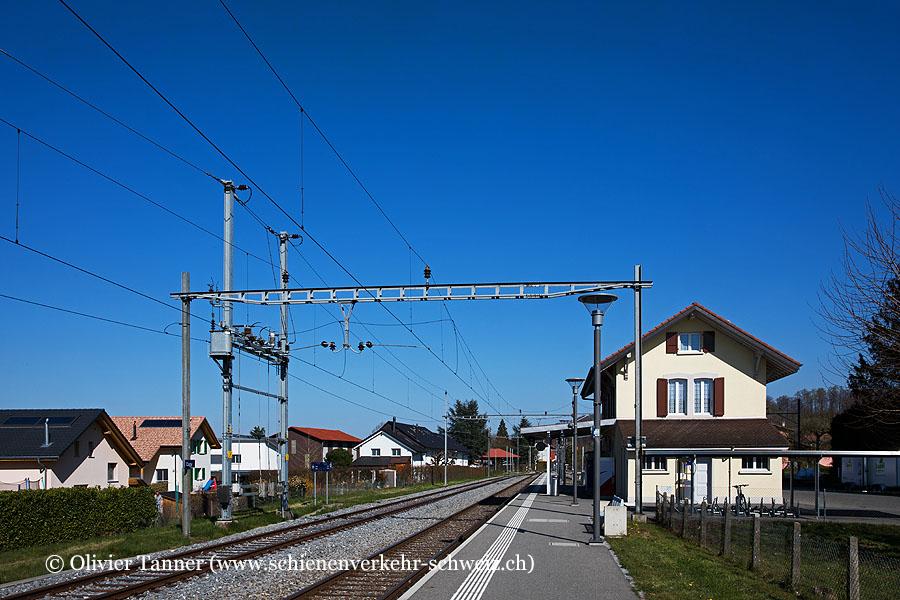 """Bahnhof """"Cugy FR"""""""