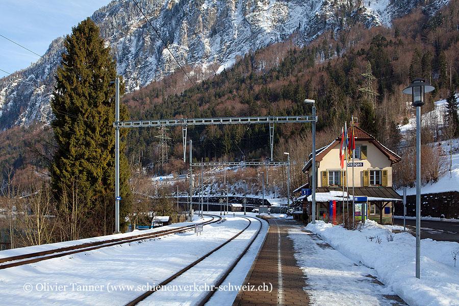 """Bahnhof """"Därligen"""""""