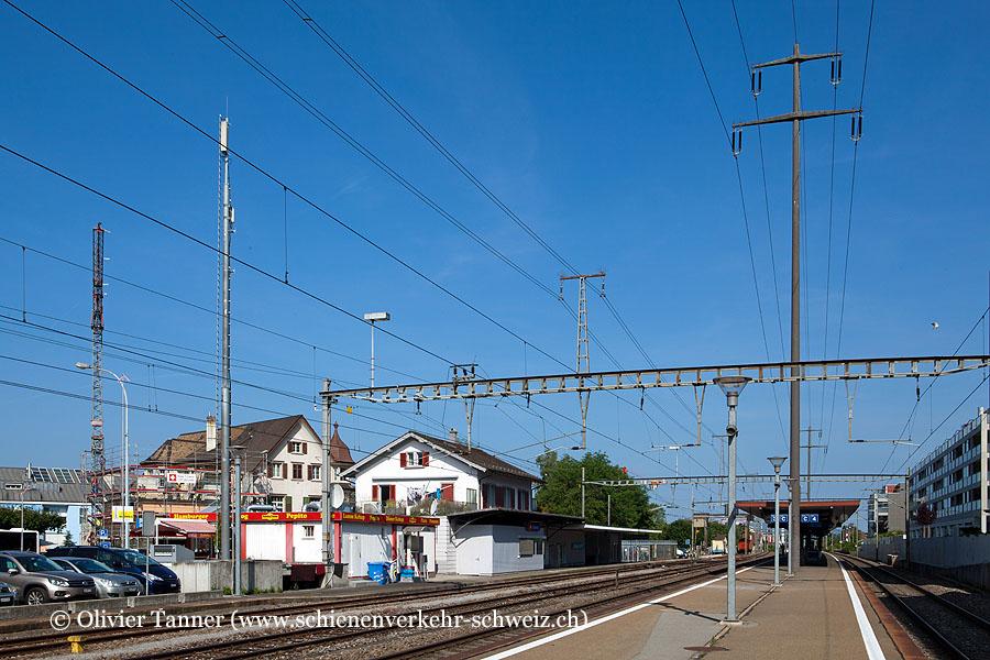 """Bahnhof """"Dübendorf"""""""