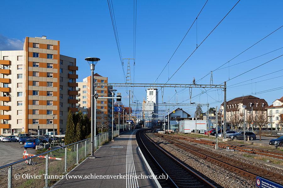 """Bahnhof """"Düdingen"""""""