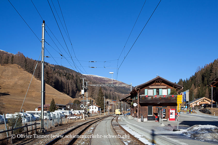 "Bahnhof ""Davos Glaris"""