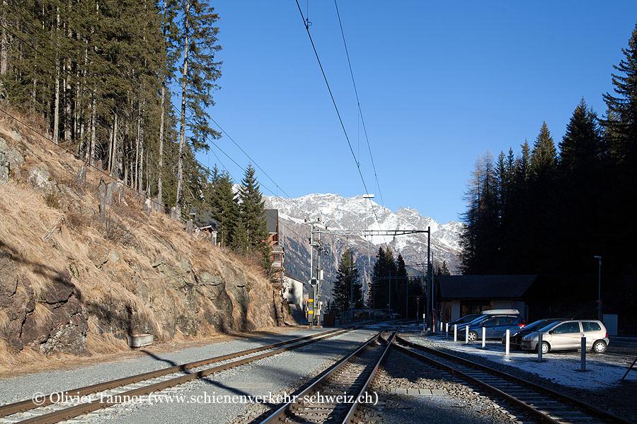 """Bahnhof """"Davos Laret"""""""