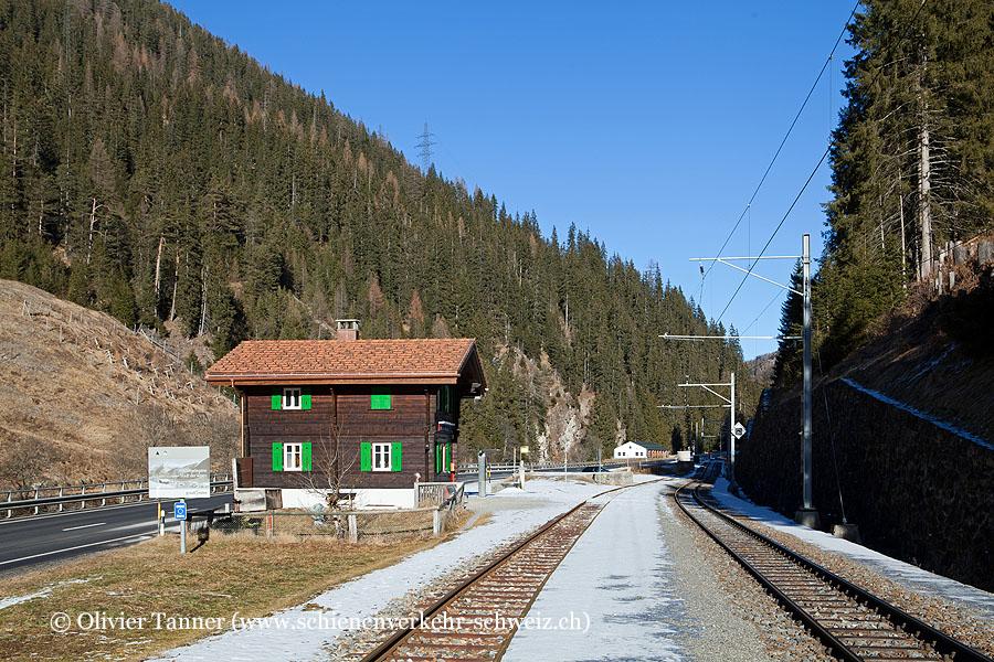 """Bahnhof """"Davos Monstein"""""""
