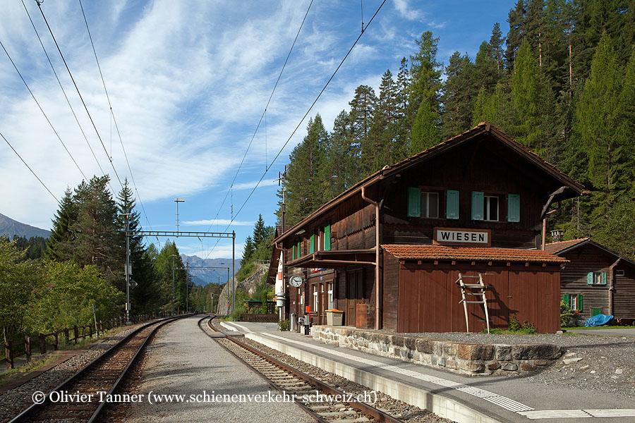 """Bahnhof """"Davos Wiesen"""""""